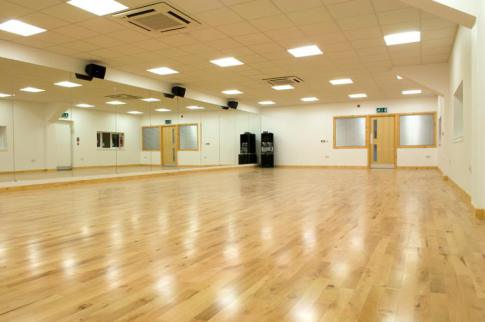 Dance Studio Interior